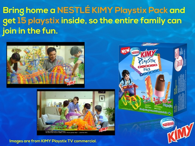 Nestle Kimy Playstix Pack